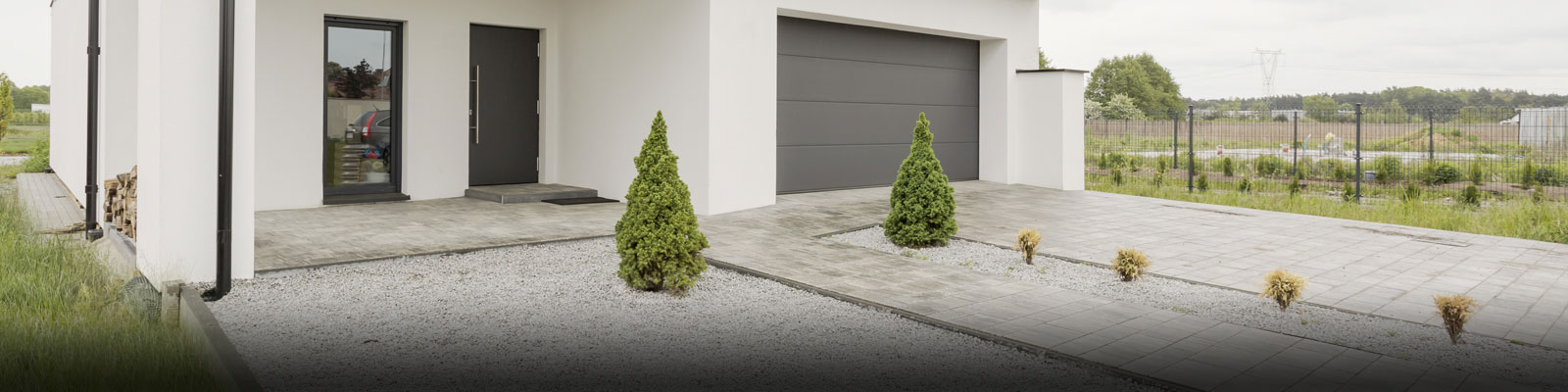 Gravel and Grass Landscaping Systems
