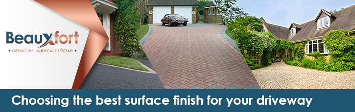 Choosing the best surface for your driveway