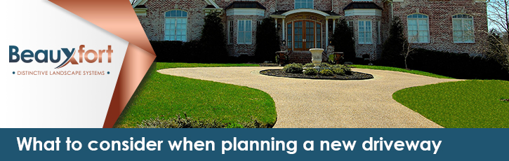 What to consider when planning a new driveway