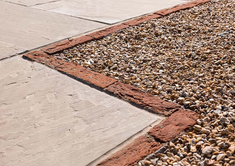 Gravel driveway system project customer story