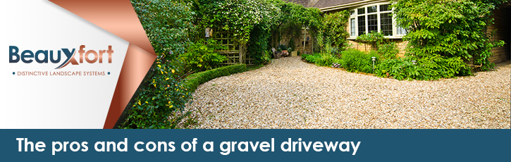 The pros and cons of a gravel driveway