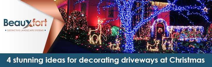 4 stunning themes for decorating driveways at Christmas