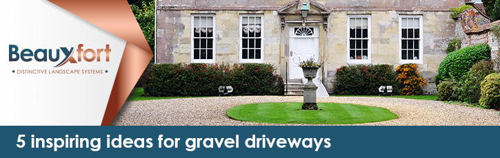 5 inspiring ideas for gravel driveways