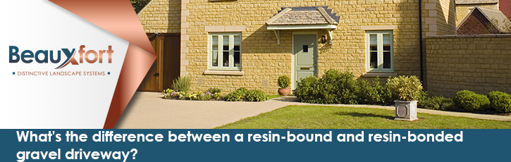 What's the difference between a resin-bound and resin-bonded gravel driveway?
