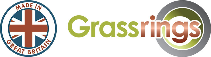 Made in Great Britain Grassrings Landscape System for Grass