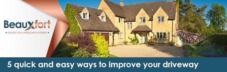 5 quick and easy ways to improve your driveway