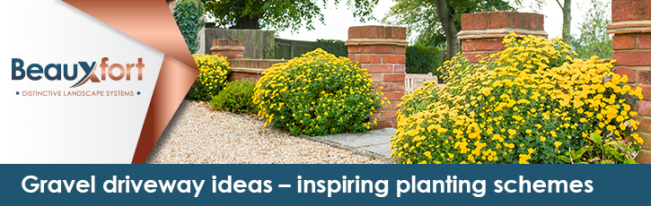 Gravel driveway ideas – inspiring planting schemes