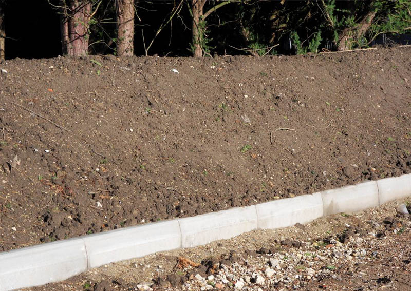 Groundcell laying system soil layer