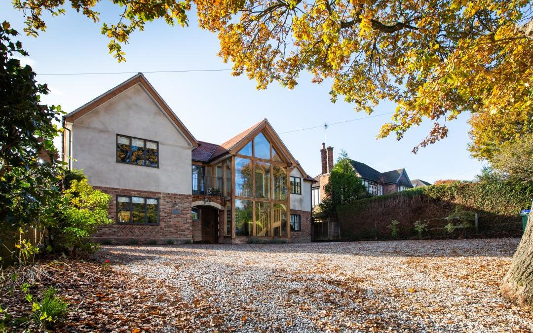 How to keep gravel on a sloping driveway